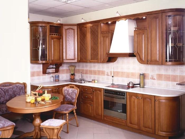 Кухня 9 метров классика