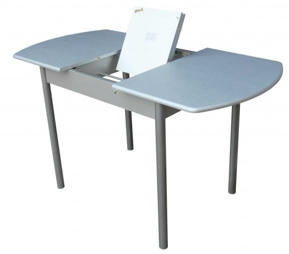 Белый раздвижной стол