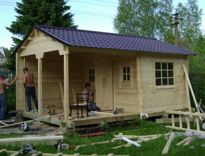 Строительство летней кухни