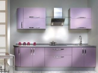 Галерея кухонь фиолетового цвета, часть 4