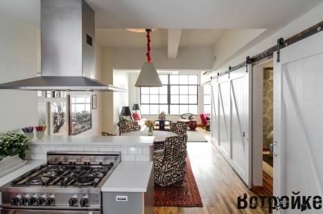 Галерея кухонь в стиле лофт, часть 2