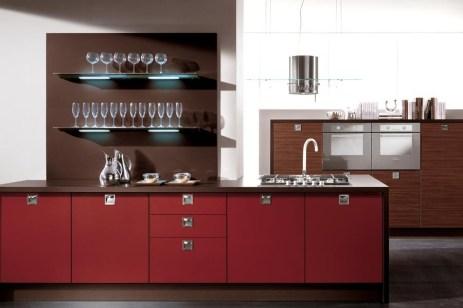 Галерея кухонь компании Lube, Италия, часть 4