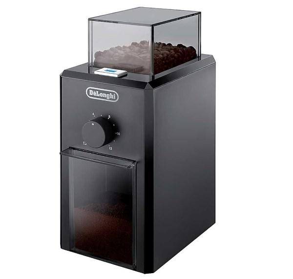 Жерновая электрическая кофемолка Delonghi KG79