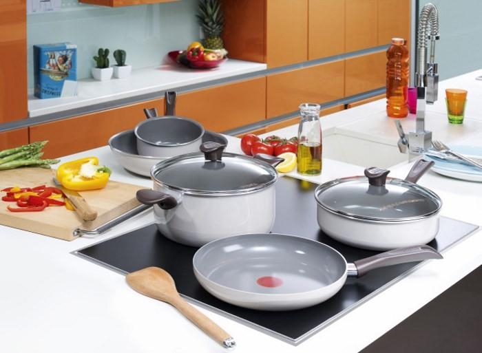 Индукционная посуда Ceramic Control Tefal