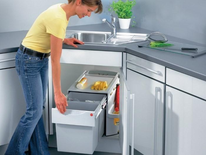 Полезные рекомендации по выбору мусорного ведра на кухню