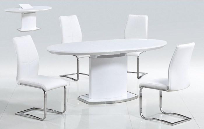 Овальный стол из поликарбоната