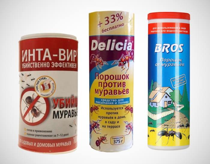 Порошковые средства против муравьев