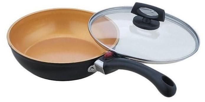 Сковорода с крышкой Winner wr-6128