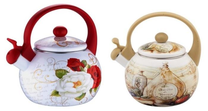 Эмалированные чайники для газа фирмы Ziggler