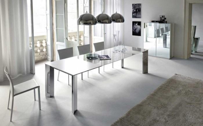 Обеденный стол в стиле хай-тек