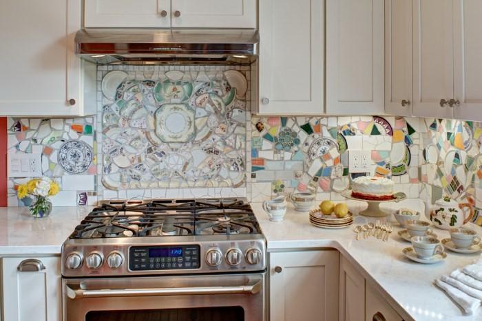 Креативный кухонный фартук