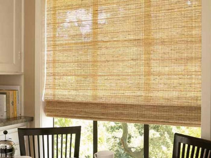 Шторы из бамбукового волокна
