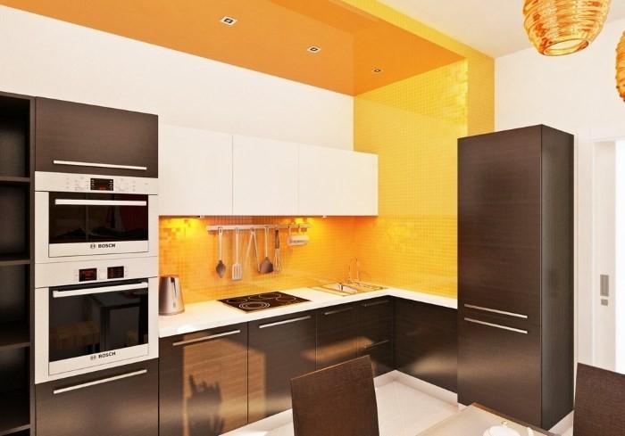 Современный стиль кухни 9 кв