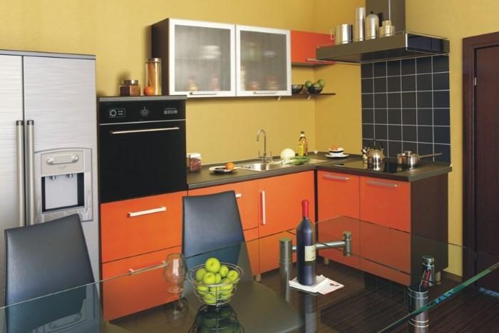 Угловая планировка кухни 9 кв м