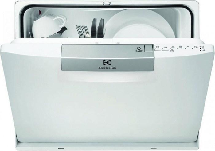 Компактная посудомоечная машина Электролюкс