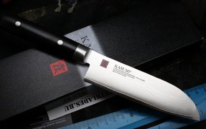 нож фирмы kasumi