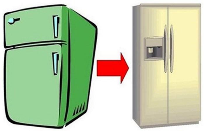 Вывести холодильник из дома бесплатно