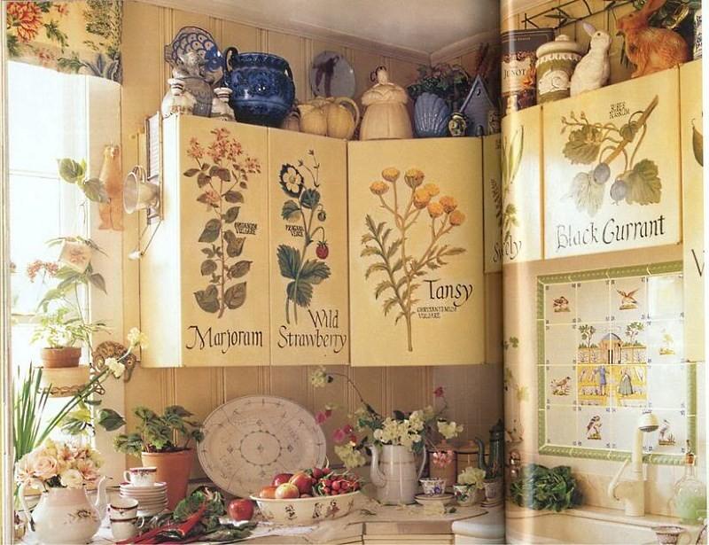 декор кухонных шкафов своими руками фото это