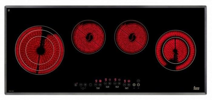 Индикация остаточного нагрева индукционной плиты