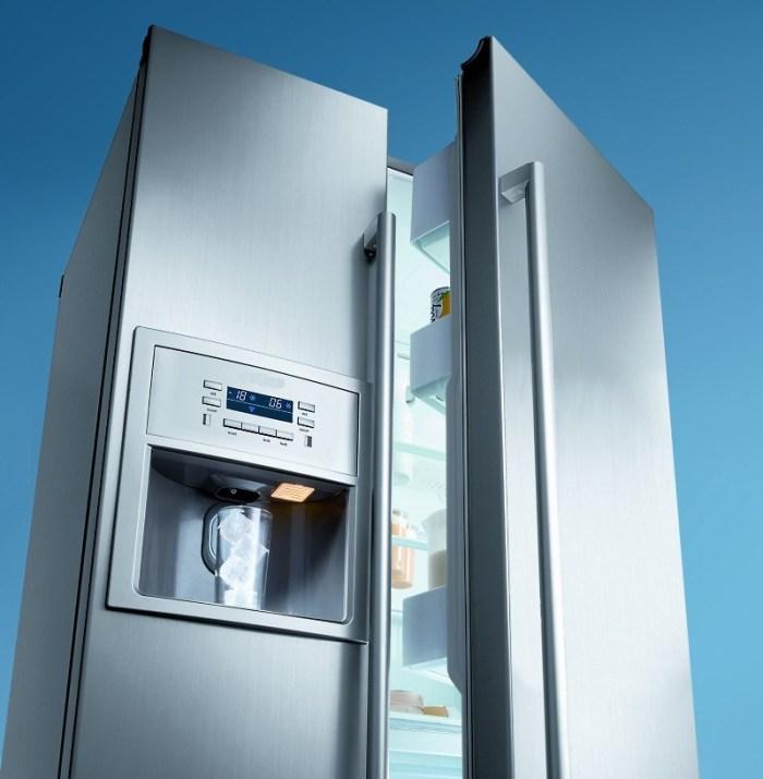 Модель двухдверного холодильника