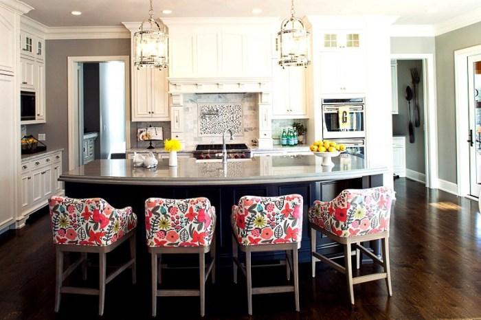 Мягкие стулья для кухни