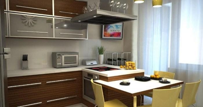 кухня 11 кв м