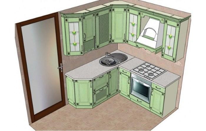 мебель для кухни в корабле
