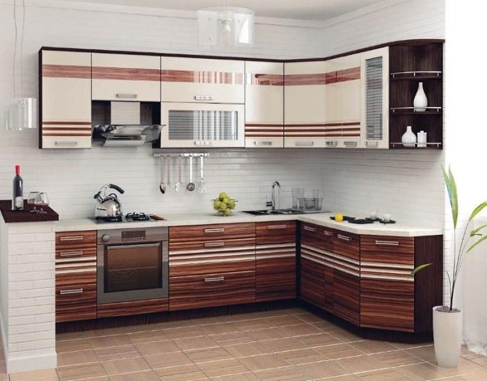 Фото дизайн угловой кухни