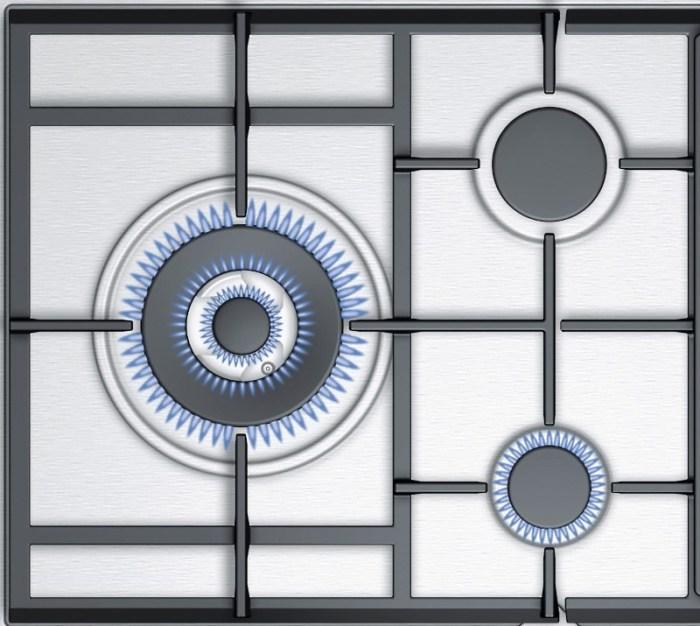 Схема конфорок газовой варочной панели