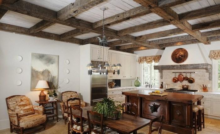 Дизайн кухни в испанском стиле