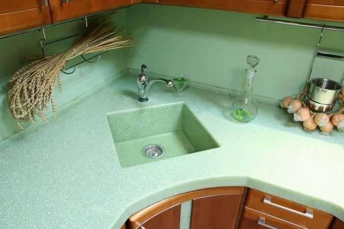 Интегрированная кухонная мойка