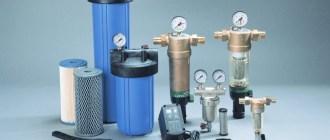 Виды и принцип работы магистральных фильтров для воды