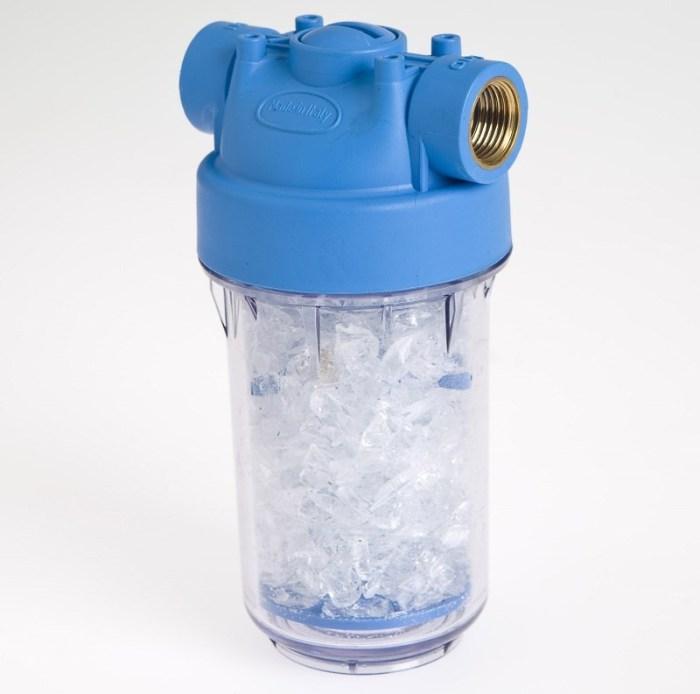 Магистральный фильтр умягчения воды