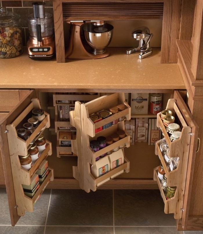 Хранение на кухне 5 кв м