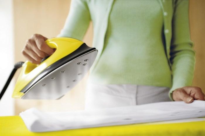 Как стирать и гладить тюль