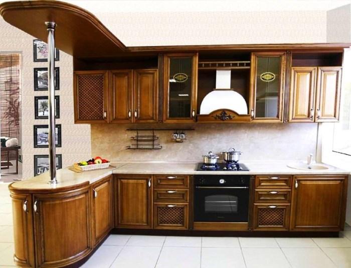 Кухонные фасады из дуба