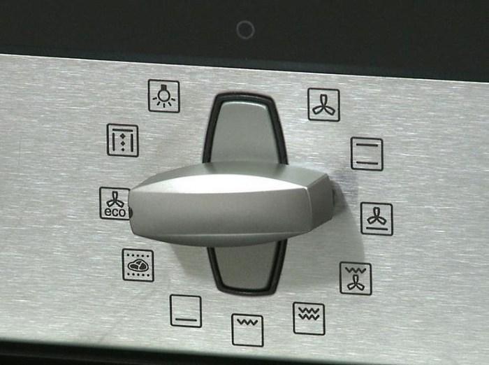 механическая панель управления духового шкафа