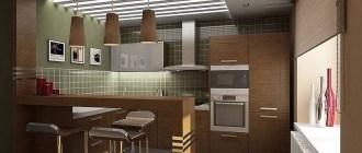 Роль барной стойки в квартире: от эстетической привлекательности, до функциональности