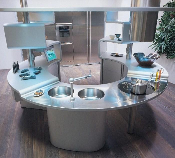 кухня в стиле хайтек