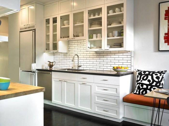 кухня с красивыми фасадами