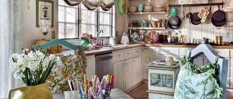 Интересные решения для кухни: от пола до потолка, с ремонтом и без него.