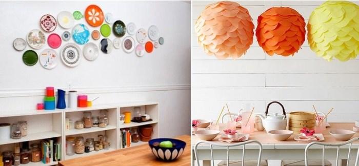 Яркие цвета на кухне
