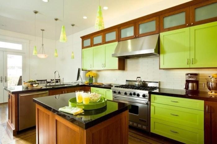 Цветовые сочетания в интерьере кухни: фото, правила, лучшие решения