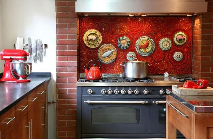 Мозаичное панно на кухню