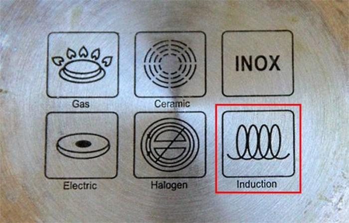 Маркировка на посуде для индукционной печи
