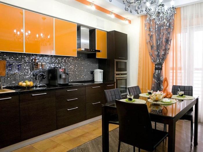 Элементы двух стилей на одной кухне