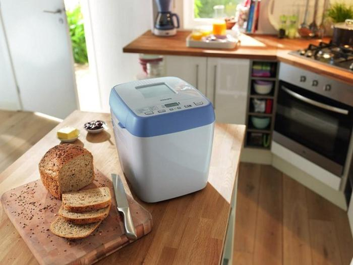 Выбрать хлебопечку с таймером и утром свежий хлеб