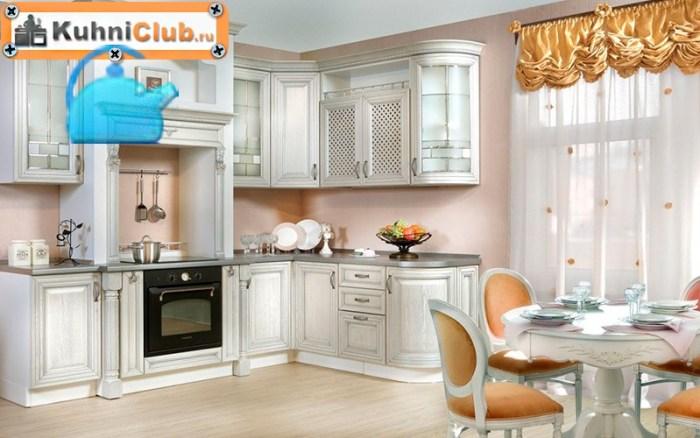 Классический-стиль-кухни-из-беленого-дуба