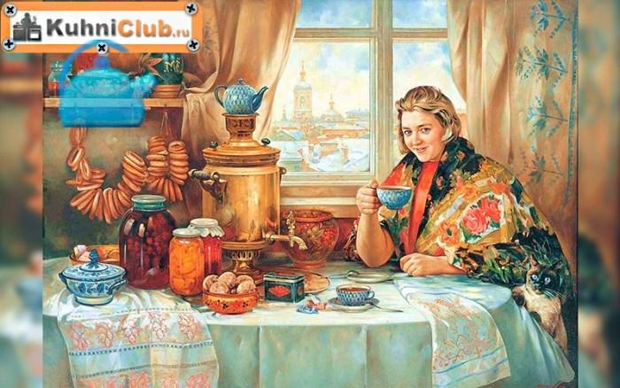 Традиционное-русское-чаепитие