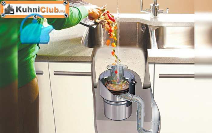 Кухонный-измельчитель-пищевых-отходов